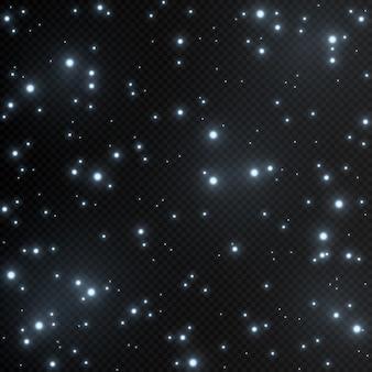 Lumière d'étoiles brillantes