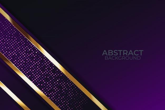 Lumière de fond de paillettes avec la technologie moderne de couleur abstraite