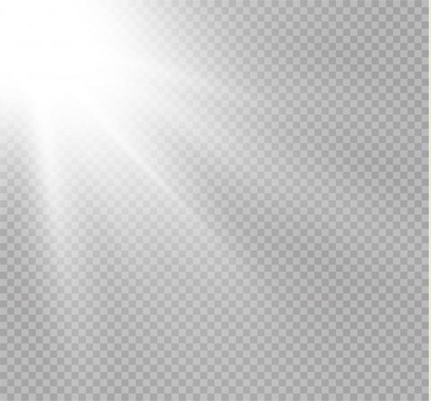 Lumière d'une lampe ou d'un projecteur. scène éclairée.