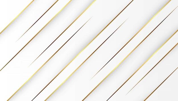 Lumière de ligne or abstrait avec fond gris