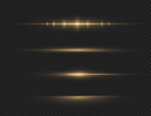 La lumière rougeoyante jaune explose sur un fond transparent particules de poussière magiques scintillantes étoile brillante soleil brillant transparent flash lumineux vecteur scintille pour centrer un flash lumineux