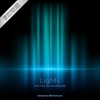 Les lumières bleues fond