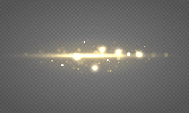 Lumières bokeh incandescentes