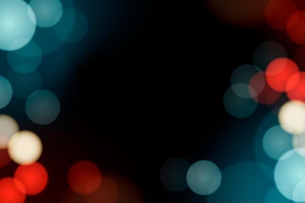 Lumières brouillées festives