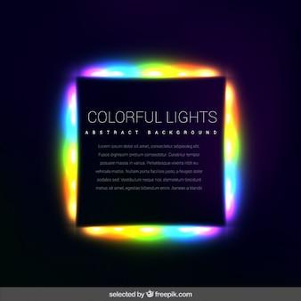 Lumières colorées fond