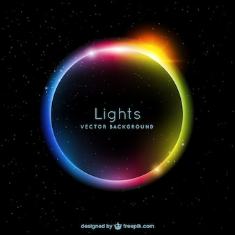Lumières de couleur de fond