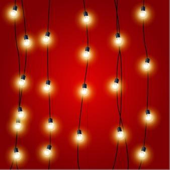 Lumières de guirlande