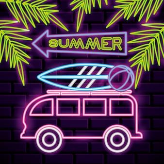Lumières de l'heure d'été