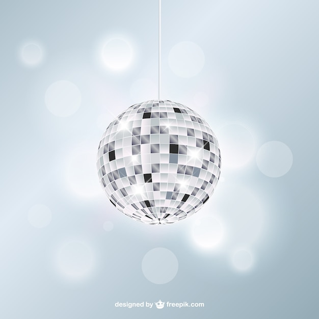 Lumineux boule disco