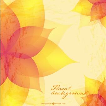 Lumineux vecteur floral
