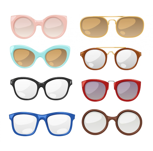 Lunettes oeil humain