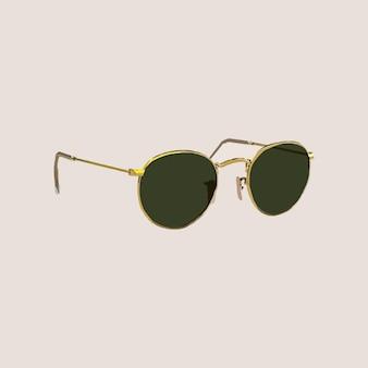 Des lunettes de soleil. illustration de mode vectorielle
