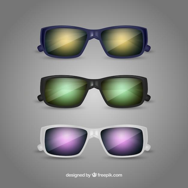 Des lunettes de soleil modernes