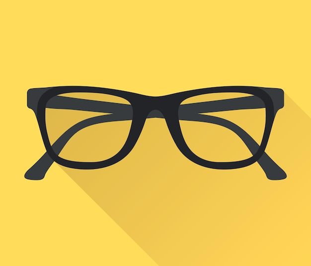 Lunettes. symbole de lunettes. icône de lunettes
