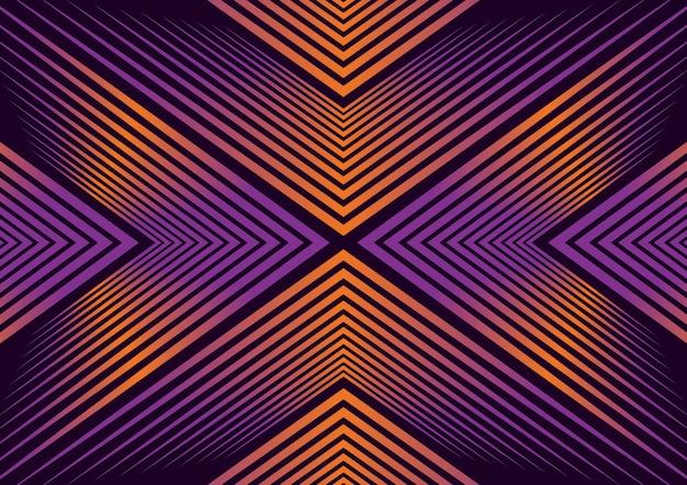 Luxe abstrait géométrique moderne
