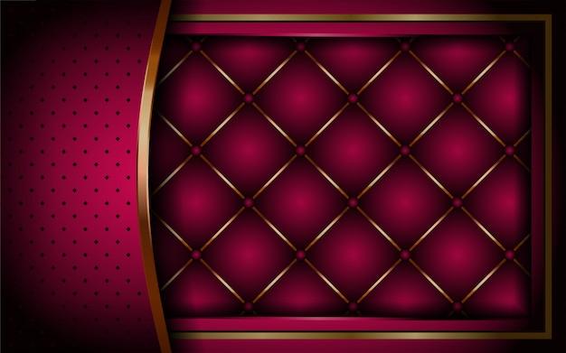 Luxe dynamique rose abstrait rose