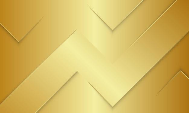 Luxe d'or abstrait avec des lignes et des ombres. modèle complètement nouveau pour votre bannière.