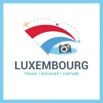 Luxembourg voyage symbole