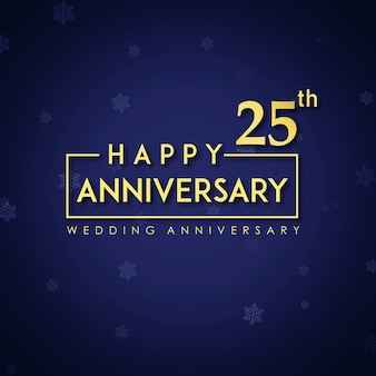 Luxury royal 25 anniversaire de mariage