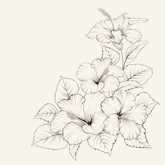 Lys bouquet de printemps isolés