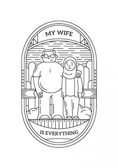 Ma femme est tout