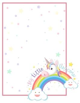 Ma petite scène de licorne