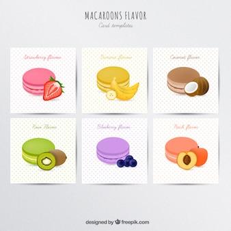 Macarons saveur