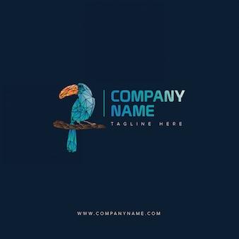 Macaw logo cyan