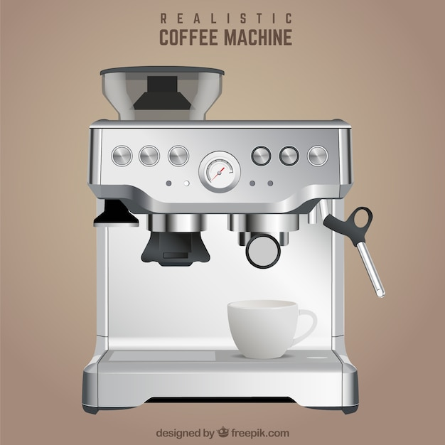 Machine à café réaliste