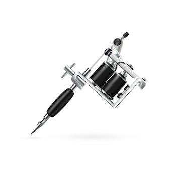 Machine à tatouer réaliste