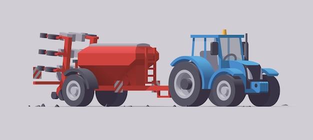 Machines agricoles avec équipement