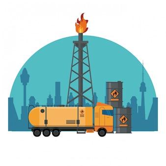 Machines de raffinage de pétrole