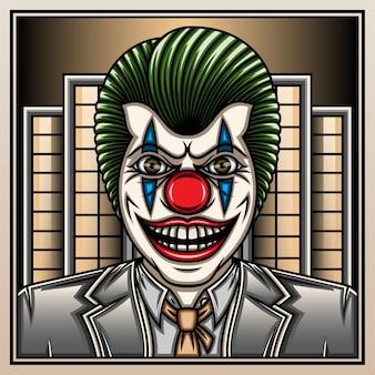 Mafia clown dans la ville.