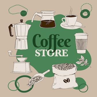 Magasin de café