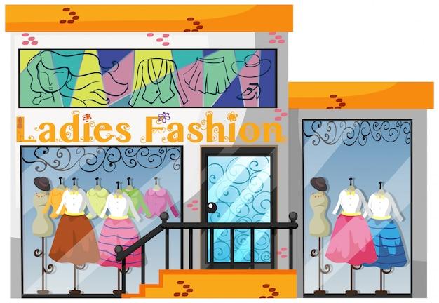 Un magasin de mode pour femmes