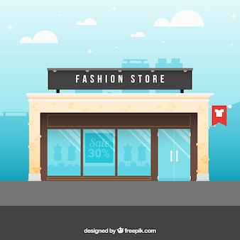 Un magasin de mode
