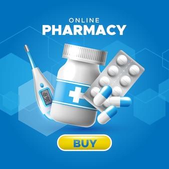 Magasin de pharmacie en ligne. médicaments en ligne
