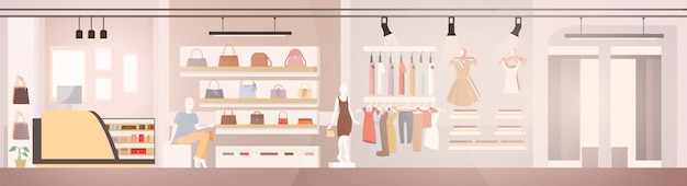 Magasin de vêtements femme