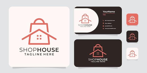 Magasinez le logo de la maison