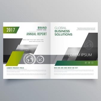 Le magazine page brochure template design pour votre marque