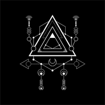 Magie du triangle moderne