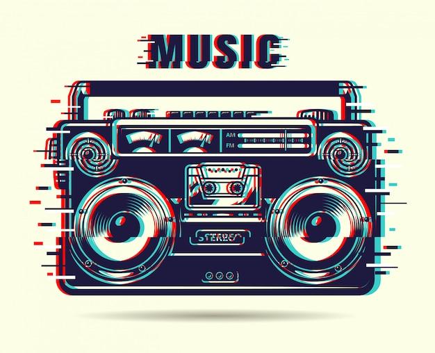 Magnétophone à musique