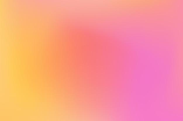 Maille orange rose floue motif dégradé multicolore lisse toile de style aquarelle moderne