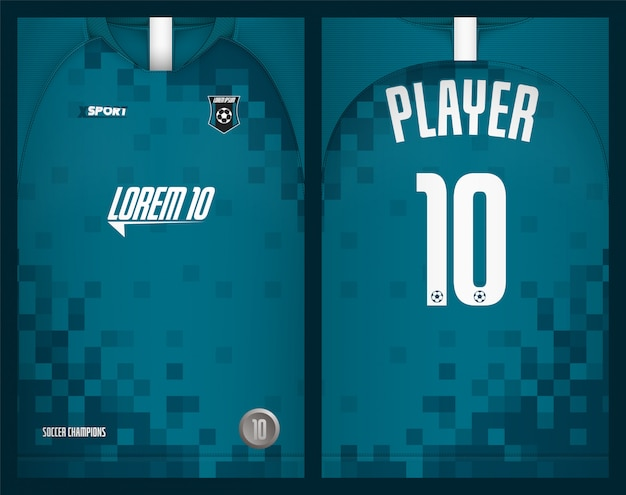 Maillot de football sport t-shirt design