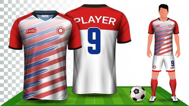 Maillot de sport ou uniforme de football.
