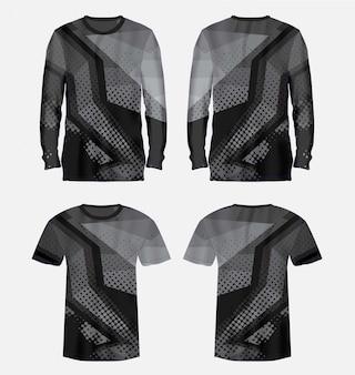 Maillots de sport t-shirts vector