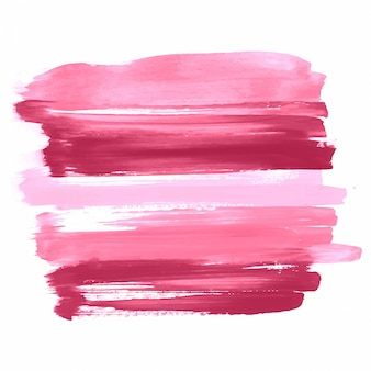 Main abstraite dessiner design aquarelle de coup coloré