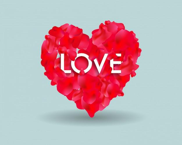 Main a mis au point le texte de bonne saint-valentin comme insigne / icône du logotype saint-valentin. affiche / carte / invitation / bannière de la saint-valentin.