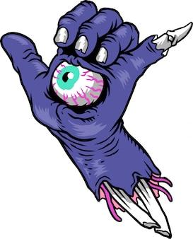 Main de monstre