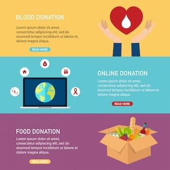 Main tenant un téléphone intelligent mobile avec de l'argent de don. concept de service en ligne de charité. illustration plate.